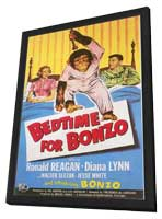 Bedtime for Bonzo - 11 x 17 Movie Poster - Style A - in Deluxe Wood Frame