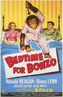 Bedtime for Bonzo - 11 x 17 Movie Poster - Style A