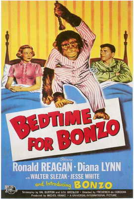 Bedtime for Bonzo - 27 x 40 Movie Poster - Style A