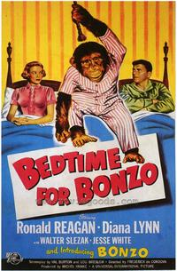 Bedtime for Bonzo - 43 x 62 Movie Poster - Bus Shelter Style A