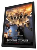 Bedtime Stories - 27 x 40 Movie Poster - Style A - in Deluxe Wood Frame
