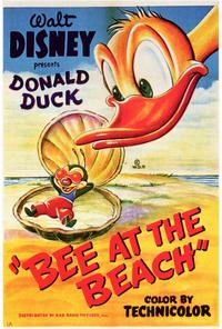 Bee at the Beach - 27 x 40 Movie Poster - Style A