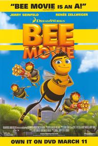 Bee Movie - 43 x 62 Movie Poster - Bus Shelter Style D