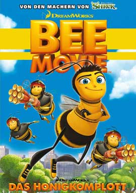 Bee Movie - 11 x 17 Movie Poster - German Style D