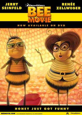 Bee Movie - 11 x 17 Movie Poster - Style M