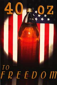 Beer Freedom - Party/College Poster - 19 x 28 - Style A