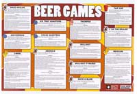 Beer Games - Party/College Poster - 24 x 36 - Style A