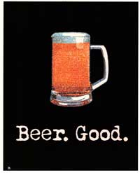 Beer Good - Party/College Poster - 24 x 36 - Style D