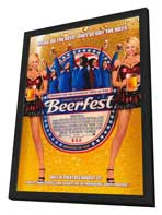 Beerfest - 27 x 40 Movie Poster - Style A - in Deluxe Wood Frame