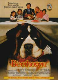 Beethoven - 11 x 17 Movie Poster - French Style A