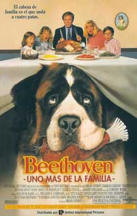 Beethoven - 11 x 17 Movie Poster - Spanish Style A