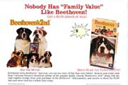 Beethoven/Beethovens 2nd - 27 x 40 Movie Poster - Style A