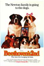 Beethoven's 2nd - Movie Poster - Reproduction - 11 x 17 Style A