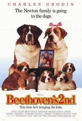 Beethoven's 2nd - 27 x 40 Movie Poster - Style A