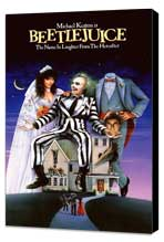 Beetlejuice - 11 x 17 Movie Poster - Style B - Museum Wrapped Canvas