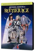 Beetlejuice - 27 x 40 Movie Poster - Style B - Museum Wrapped Canvas