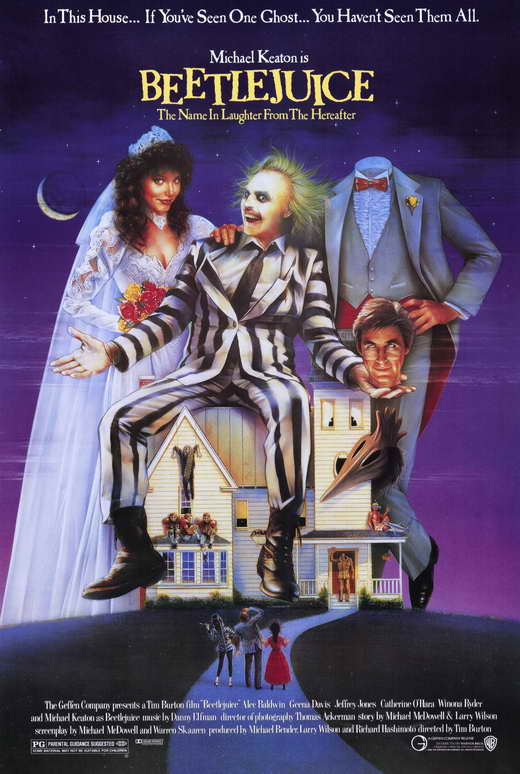 beetlejuice movie poster 1988 1020190958 Beetlejuice House: Media Muse