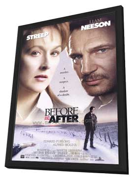 Before and After - 11 x 17 Movie Poster - Style A - in Deluxe Wood Frame