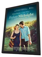 Before Midnight - 11 x 17 Movie Poster - German Style A - in Deluxe Wood Frame