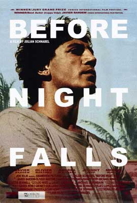 Before Night Falls - 27 x 40 Movie Poster - Style B