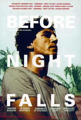 Before Night Falls - 27 x 40 Movie Poster - Style C
