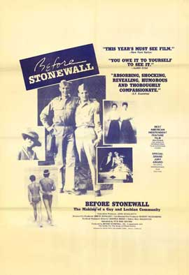 Before Stonewall - 11 x 17 Movie Poster - Style B