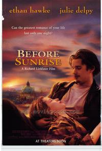 Before Sunrise - 43 x 62 Movie Poster - Bus Shelter Style A