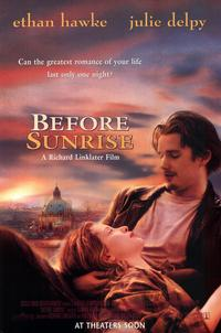 Before Sunrise - 11 x 17 Movie Poster - Style A - Museum Wrapped Canvas
