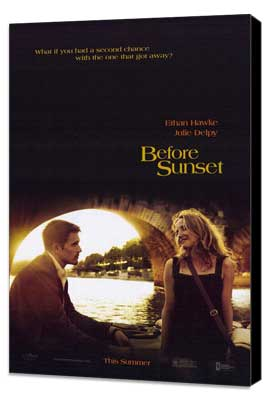 Before Sunset - 27 x 40 Movie Poster - Style A - Museum Wrapped Canvas