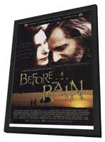 Before The Rain - 27 x 40 Movie Poster - Style A - in Deluxe Wood Frame