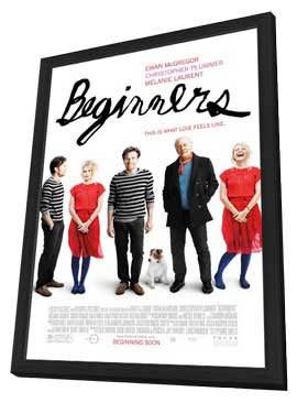 Beginners - 27 x 40 Movie Poster - Style A - in Deluxe Wood Frame