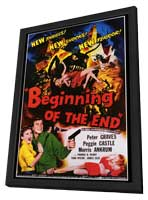 Beginning of the End - 27 x 40 Movie Poster - Style A - in Deluxe Wood Frame