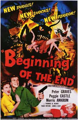 Beginning of the End - 11 x 17 Movie Poster - Style A