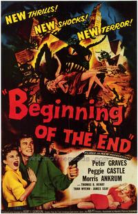 Beginning of the End - 27 x 40 Movie Poster - Style B