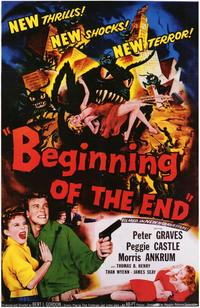 Beginning of the End - 43 x 62 Movie Poster - Bus Shelter Style A
