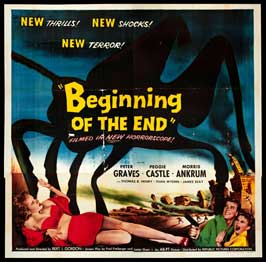 Beginning of the End - 30 x 30 Movie Poster - Style A