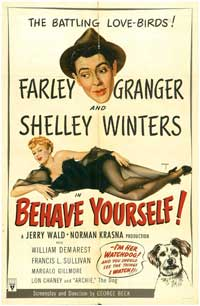 Behave Yourself! - 11 x 17 Movie Poster - Style A