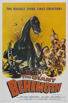 Behemoth the Sea Monster - 11 x 17 Movie Poster - Style A