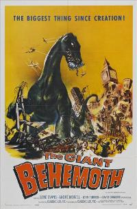 Behemoth the Sea Monster - 27 x 40 Movie Poster - Style A