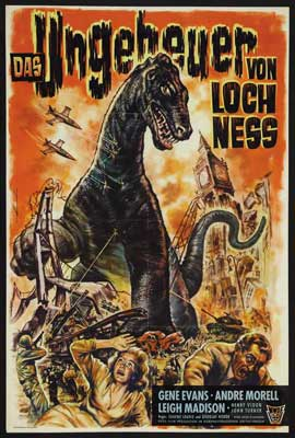 Behemoth the Sea Monster - 27 x 40 Movie Poster - German Style A