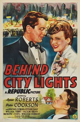 Behind City Lights - 27 x 40 Movie Poster - Style A