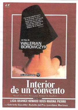 Behind Convent Walls - 11 x 17 Movie Poster - Spanish Style A