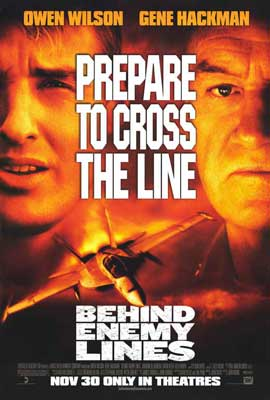 Behind Enemy Lines - 27 x 40 Movie Poster - Style A
