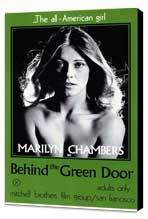 Behind the Green Door - 11 x 17 Movie Poster - Style A - Museum Wrapped Canvas