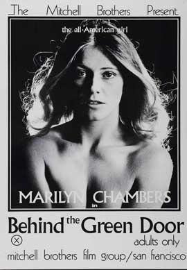 Behind the Green Door - 11 x 17 Movie Poster - Style B