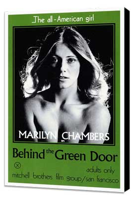 Behind the Green Door - 27 x 40 Movie Poster - Style A - Museum Wrapped Canvas