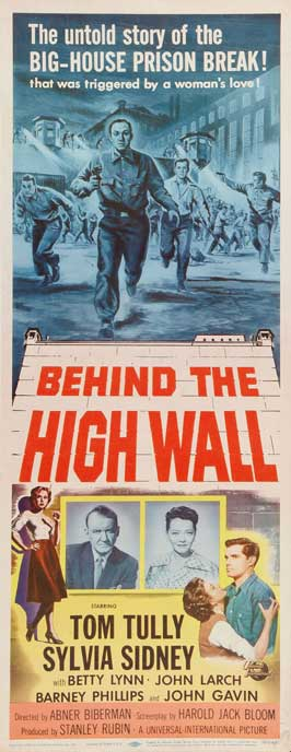 Behind the High Wall - 14 x 36 Movie Poster - Insert Style A