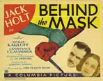 Behind the Mask - 22 x 28 Movie Poster - Style A