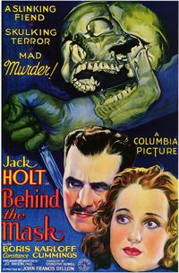 Behind the Mask - 43 x 62 Movie Poster - Bus Shelter Style A