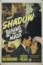 Behind the Mask - 11 x 17 Movie Poster - Style A